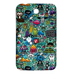 Monster Samsung Galaxy Tab 3 (7 ) P3200 Hardshell Case  by AnjaniArt