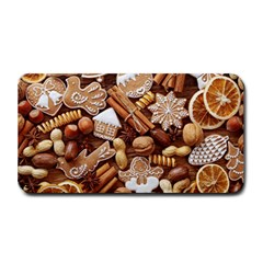 Nuts Cookies Christmas Medium Bar Mats by AnjaniArt
