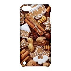 Nuts Cookies Christmas Apple Ipod Touch 5 Hardshell Case With Stand by AnjaniArt