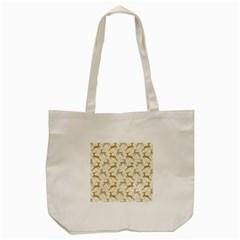 Paper Gift Deer Tote Bag (cream)