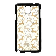 Paper Gift Deer Samsung Galaxy Note 3 Neo Hardshell Case (black) by AnjaniArt