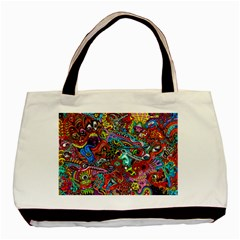 Moster Mask Basic Tote Bag by AnjaniArt