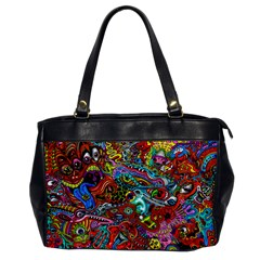 Moster Mask Office Handbags by AnjaniArt