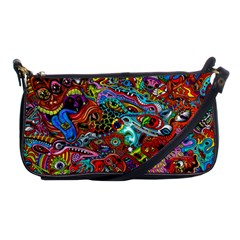 Moster Mask Shoulder Clutch Bags by AnjaniArt