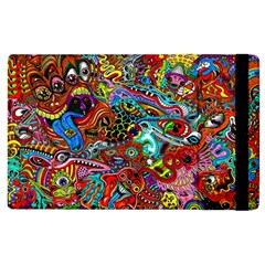 Moster Mask Apple Ipad 3/4 Flip Case by AnjaniArt