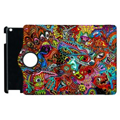 Moster Mask Apple Ipad 3/4 Flip 360 Case by AnjaniArt