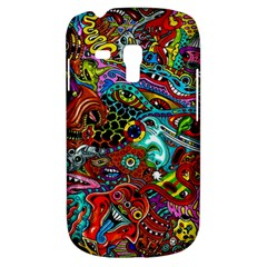 Moster Mask Samsung Galaxy S3 Mini I8190 Hardshell Case by AnjaniArt