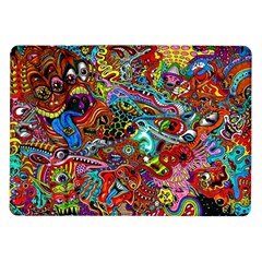 Moster Mask Samsung Galaxy Tab 10 1  P7500 Flip Case by AnjaniArt