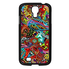 Moster Mask Samsung Galaxy S4 I9500/ I9505 Case (black) by AnjaniArt
