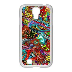 Moster Mask Samsung Galaxy S4 I9500/ I9505 Case (white) by AnjaniArt