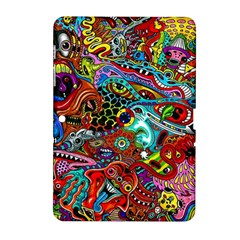 Moster Mask Samsung Galaxy Tab 2 (10 1 ) P5100 Hardshell Case  by AnjaniArt