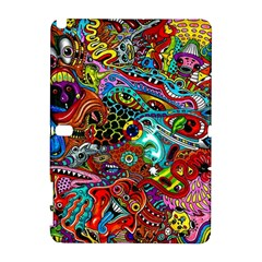 Moster Mask Samsung Galaxy Note 10 1 (p600) Hardshell Case by AnjaniArt
