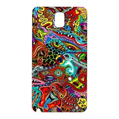Moster Mask Samsung Galaxy Note 3 N9005 Hardshell Back Case by AnjaniArt