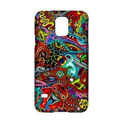 Moster Mask Samsung Galaxy S5 Hardshell Case  by AnjaniArt