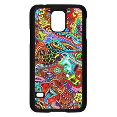 Moster Mask Samsung Galaxy S5 Case (black) by AnjaniArt