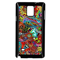 Moster Mask Samsung Galaxy Note 4 Case (black) by AnjaniArt
