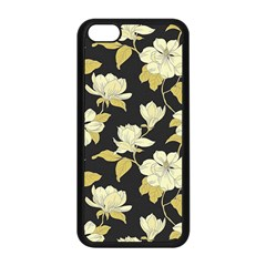 Pattern Rose Apple Iphone 5c Seamless Case (black) by AnjaniArt