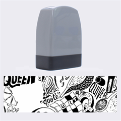 Q Pattern Name Stamps
