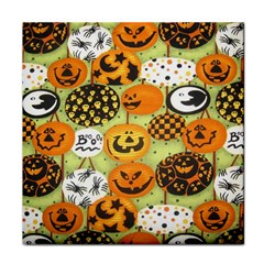 Print Halloween Tile Coasters