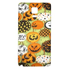 Print Halloween Galaxy Note 4 Back Case by AnjaniArt