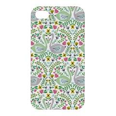 Pet Goose Swan Apple Iphone 4/4s Premium Hardshell Case by AnjaniArt