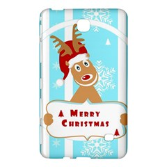 Santa Claus Reindeer Christmas Samsung Galaxy Tab 4 (8 ) Hardshell Case  by AnjaniArt