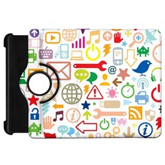 Sign Kindle Fire Hd Flip 360 Case by AnjaniArt