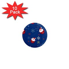 Santa Clause 1  Mini Magnet (10 Pack)  by AnjaniArt