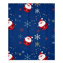 Santa Clause Shower Curtain 60  X 72  (medium)  by AnjaniArt
