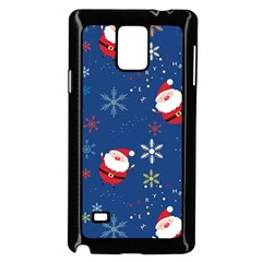 Santa Clause Samsung Galaxy Note 4 Case (black) by AnjaniArt