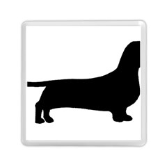 Dachshund Silo Black Memory Card Reader (Square)  by TailWags