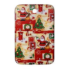 Santa Clause Mail Bird Snow Samsung Galaxy Note 8 0 N5100 Hardshell Case  by AnjaniArt