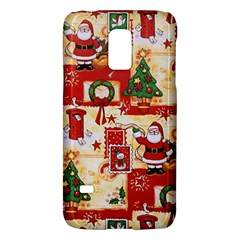 Santa Clause Mail Bird Snow Galaxy S5 Mini by AnjaniArt