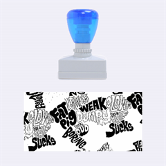 Tals Stupid Rubber Stamps (medium)  by AnjaniArt