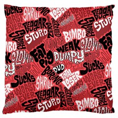 Tals Stupid Standard Flano Cushion Case (one Side) by AnjaniArt