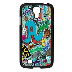 Teks Face Samsung Galaxy S4 I9500/ I9505 Case (black) by AnjaniArt