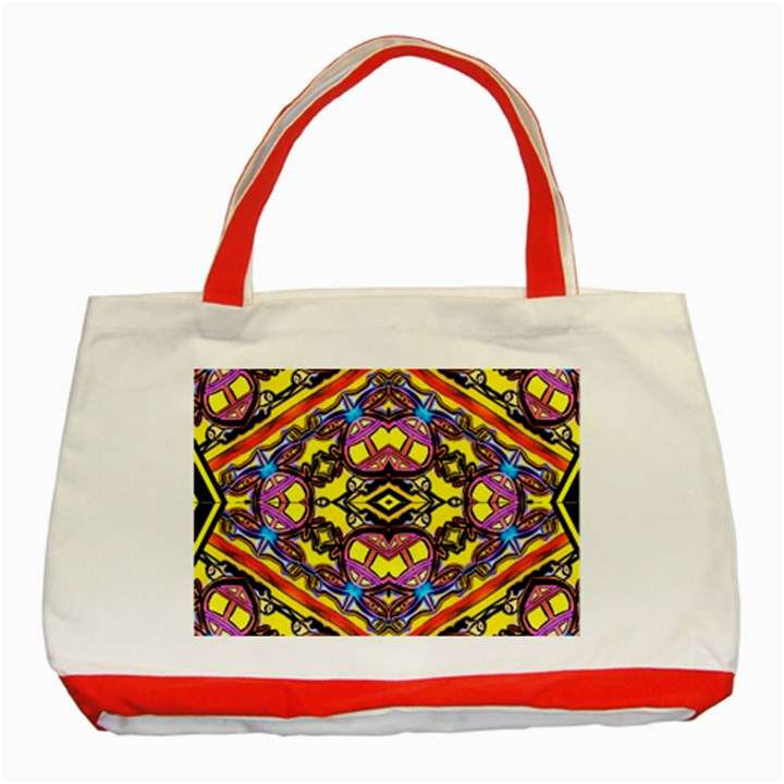 Spirit Time5588 52 Pngyg Classic Tote Bag (Red)