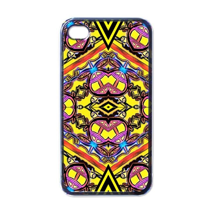 Spirit Time5588 52 Pngyg Apple iPhone 4 Case (Black)