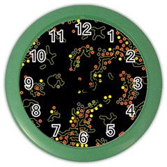 In My Mind 2 Color Wall Clocks by Valentinaart