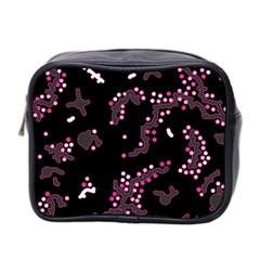 In My Mind   Pink Mini Toiletries Bag 2 Side by Valentinaart
