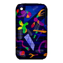 Colorful Dream Apple Iphone 3g/3gs Hardshell Case (pc+silicone) by Valentinaart