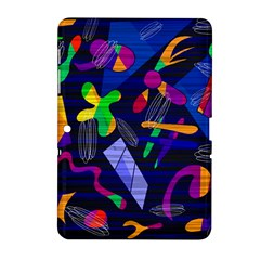 Colorful Dream Samsung Galaxy Tab 2 (10 1 ) P5100 Hardshell Case  by Valentinaart