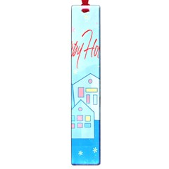 Xmas Landscape   Happy Holidays Large Book Marks by Valentinaart