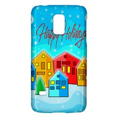 Christmas Magical Landscape  Galaxy S5 Mini by Valentinaart