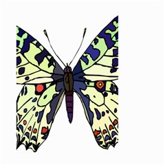 A Colorful Butterfly  Large Garden Flag (Two Sides) by Zeze