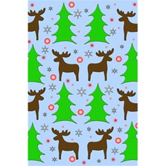 Reindeer And Xmas Trees  5 5  X 8 5  Notebooks by Valentinaart