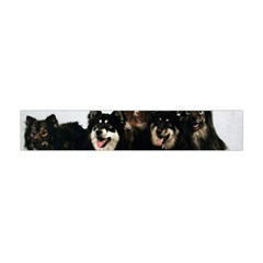 Finnish Lapphund Group Flano Scarf (Mini) by TailWags
