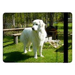 Great Pyrenees Full 2 Samsung Galaxy Tab Pro 12.2  Flip Case by TailWags