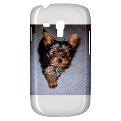 Yorkshire Terrier Puppy Samsung Galaxy S3 Mini I8190 Hardshell Case by TailWags