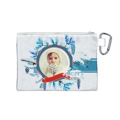 Xmas By 2016   Canvas Cosmetic Bag (medium)   Kfzbg6w075pl   Www Artscow Com Back
